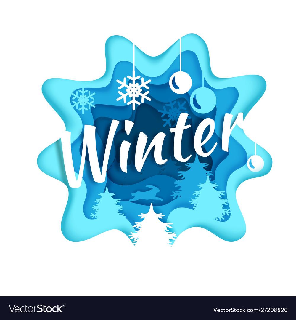Winter season composition in