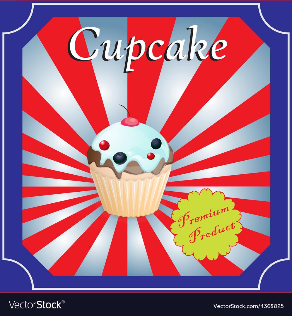 Cupcakes poster design