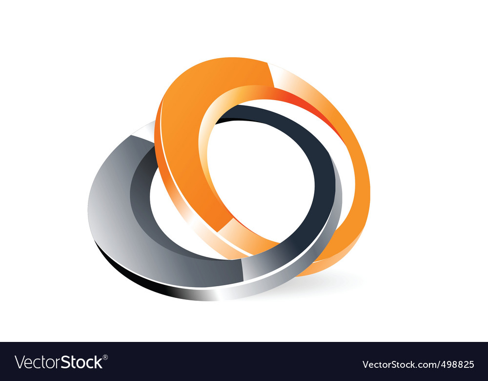 web ring technology flow logo template rings round stock orbit photo rin abstract vector design circle
