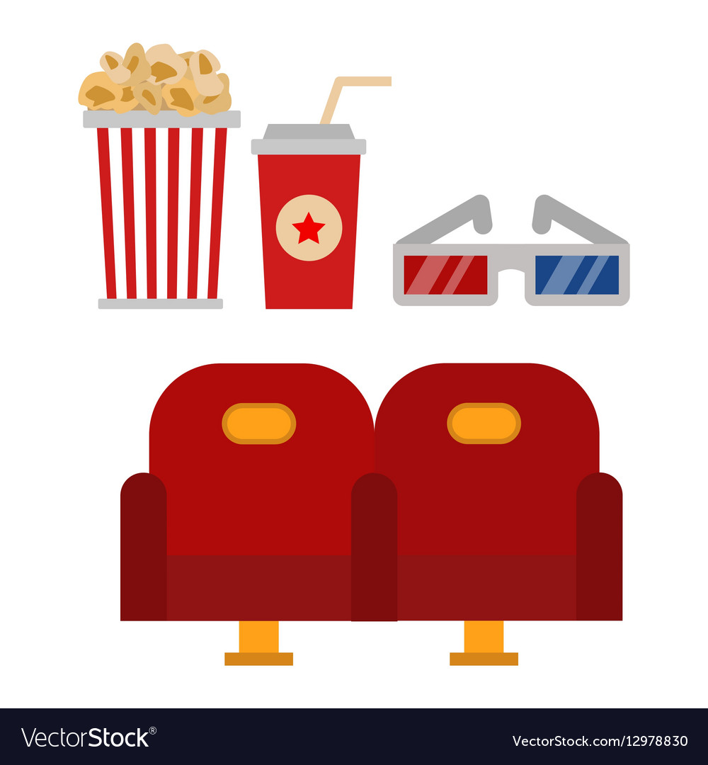 Cinema chairs and entertainment equipment