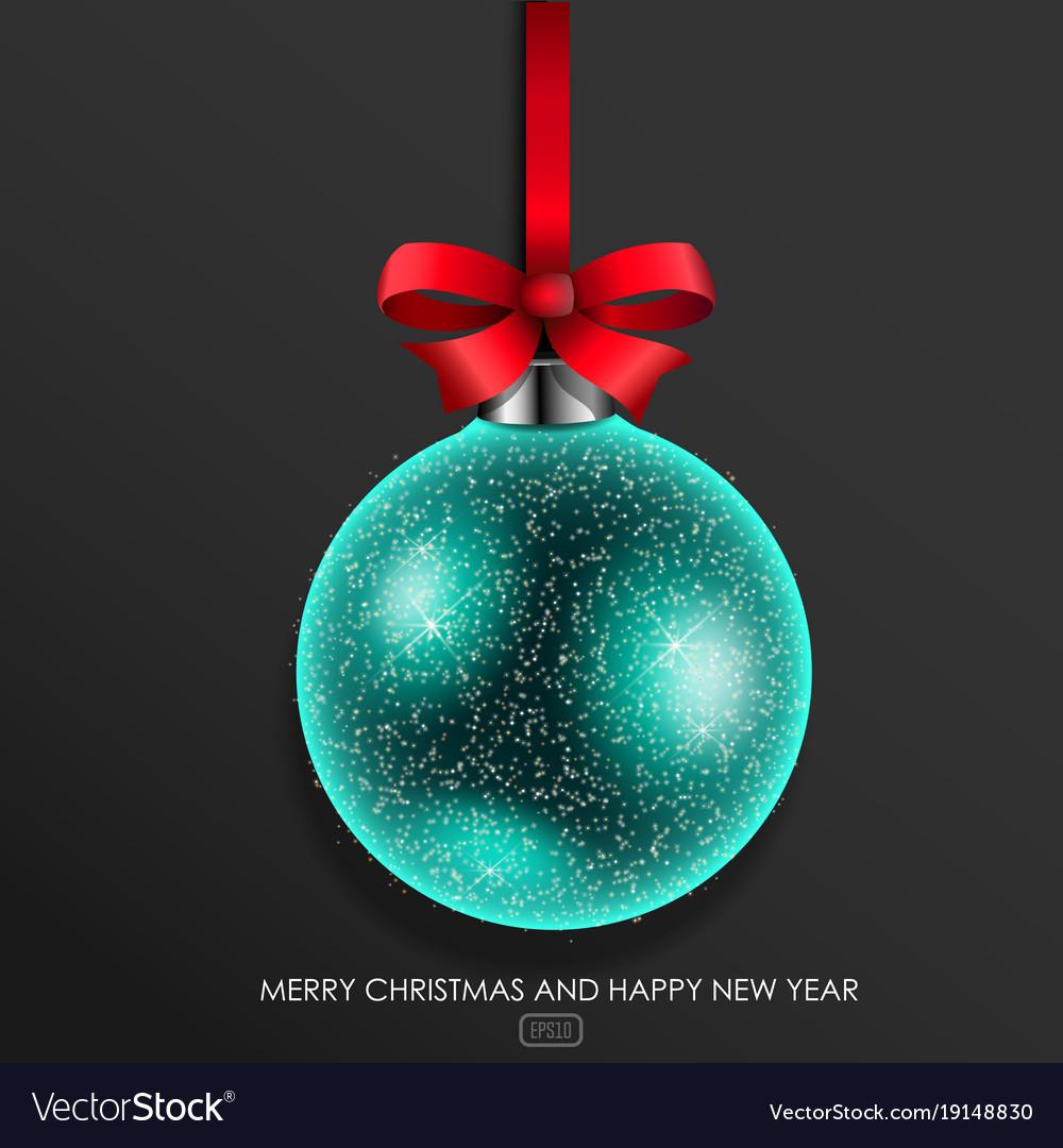 Glass christmas ball
