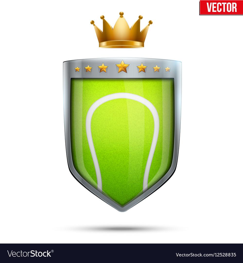 Premium symbol of Tennis vector image