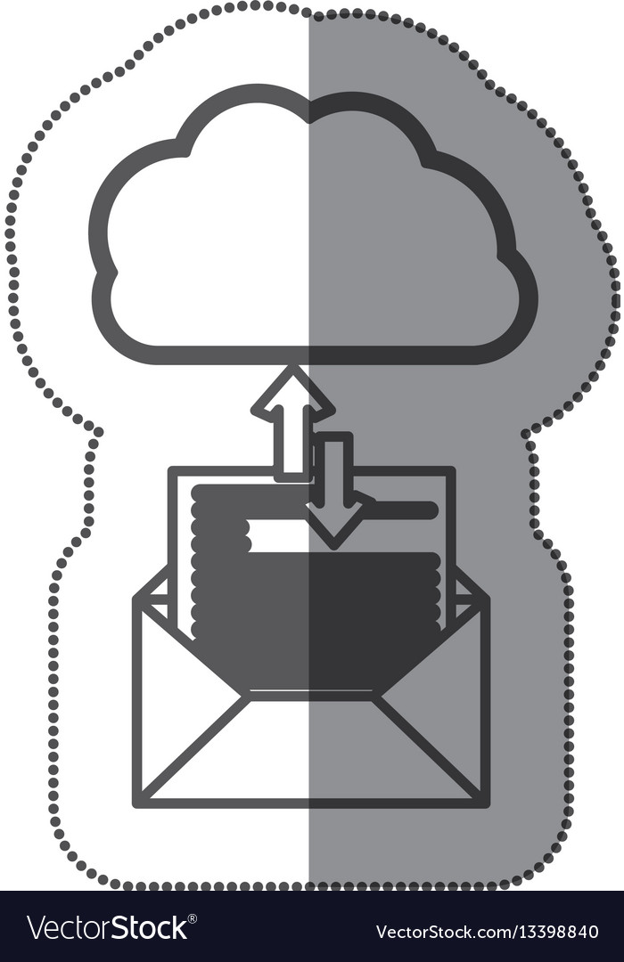 Cloud hosting data downloading and uploading