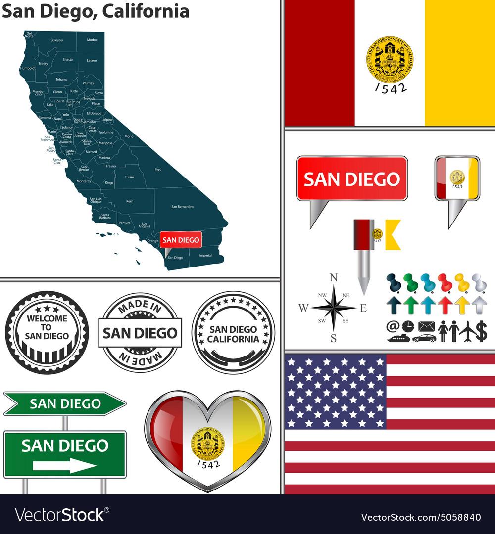 San Diego California set