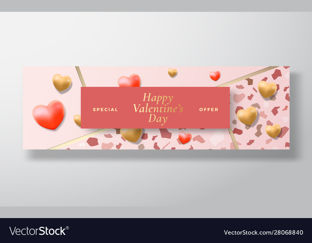 Valentines day special offer sale abstract