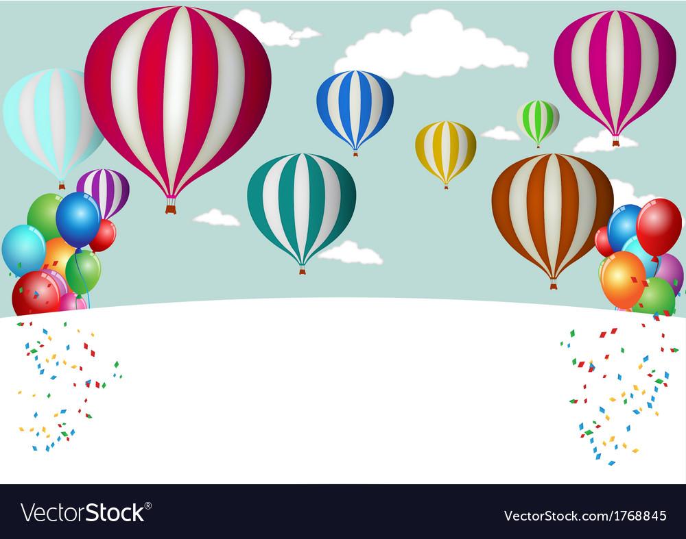 Hot Air Balloon Celebration