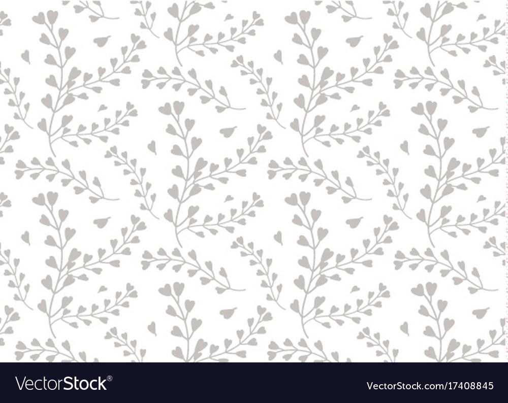 Seamless pattern of windflower pickpurse