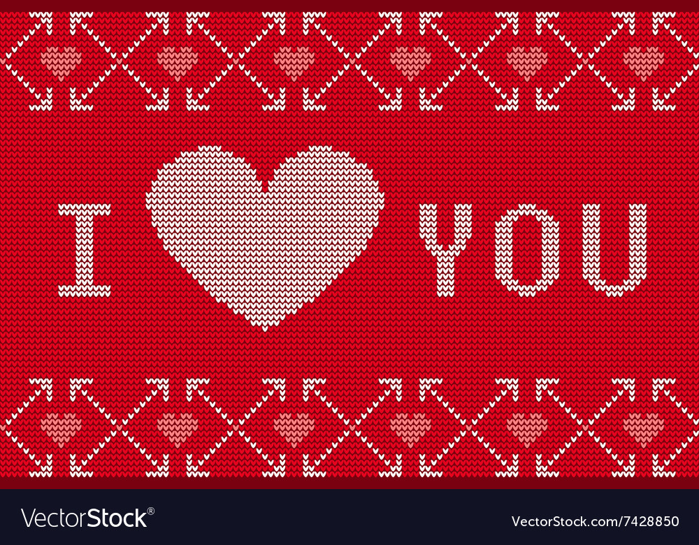 St Valentines Ugly Sweater A Royalty Free Vector Image