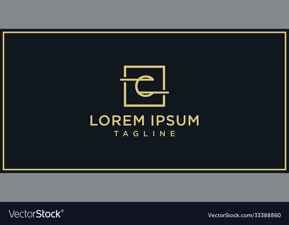 C elegance logo design