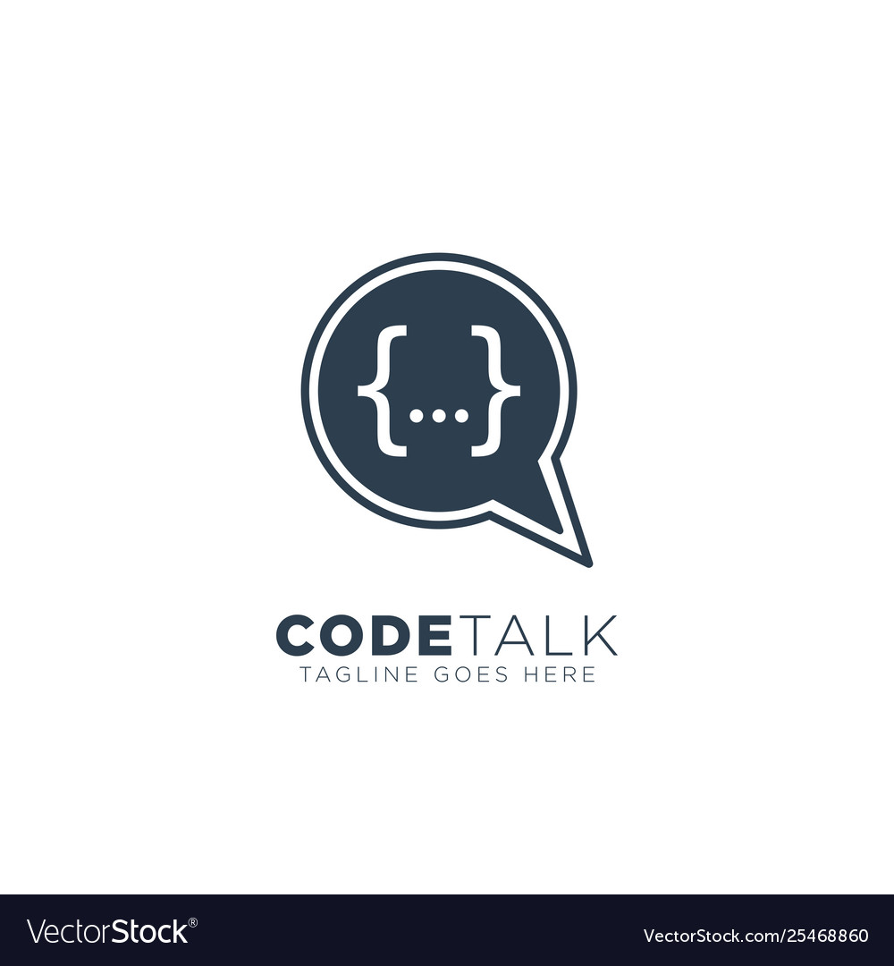 Code programmer logo design icon element