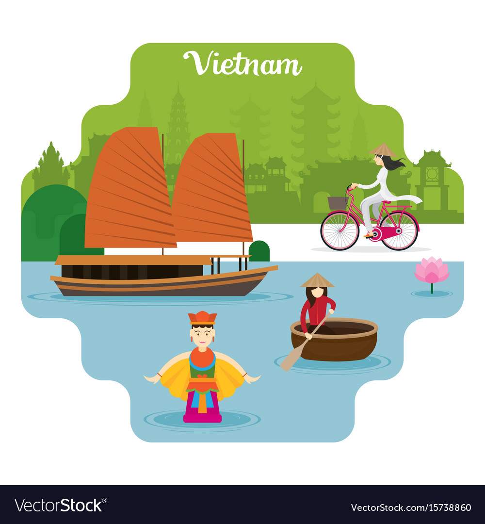 Vietnam travel and attraction