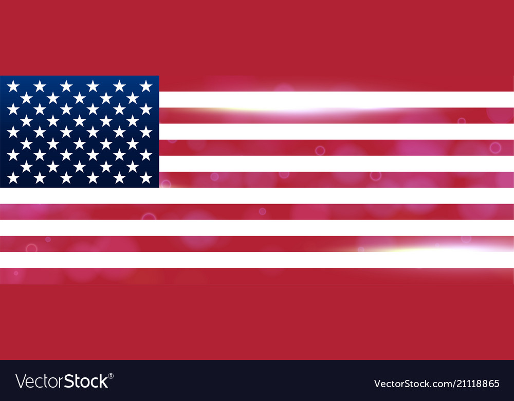 The national flag of the country of united states