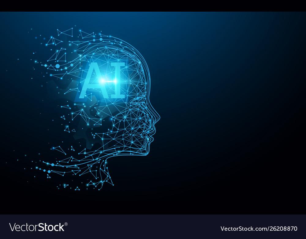 Ai - artificial intelligence ai digital brain