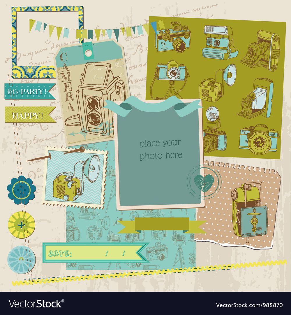 Scrapbook Design Elements - Vintage Photo