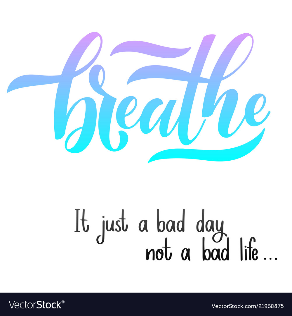 Inspirational Quotes For Mental Health Day Vector Image