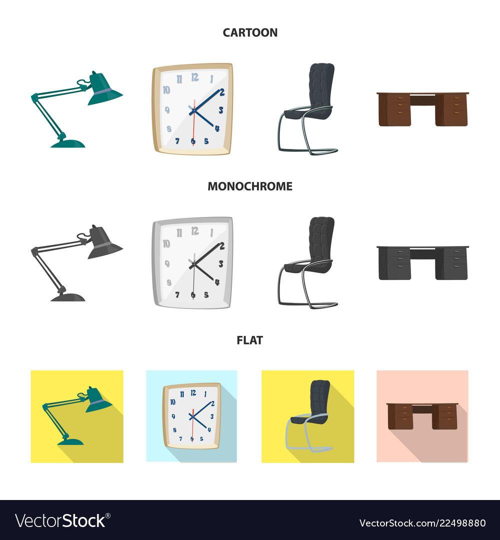 Design of furniture and work logo