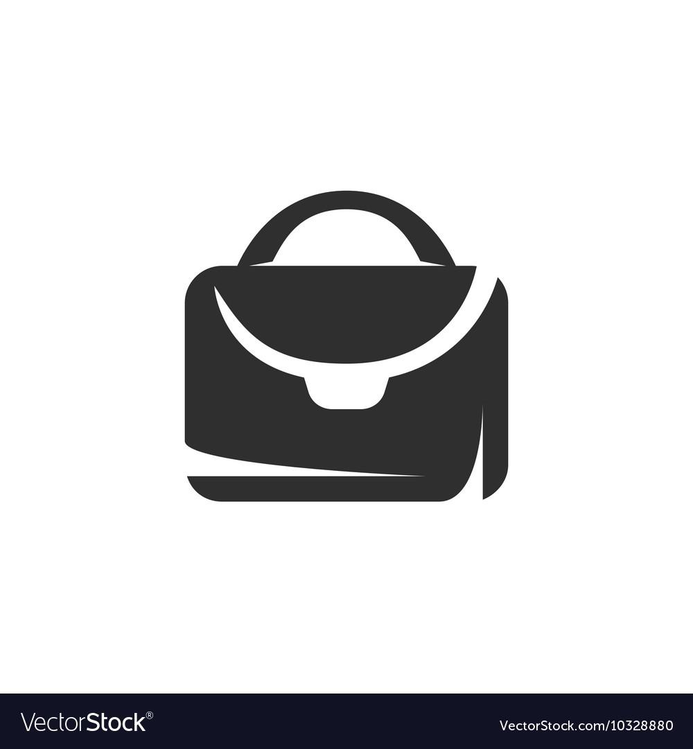 Suitcase icon isolated on white background