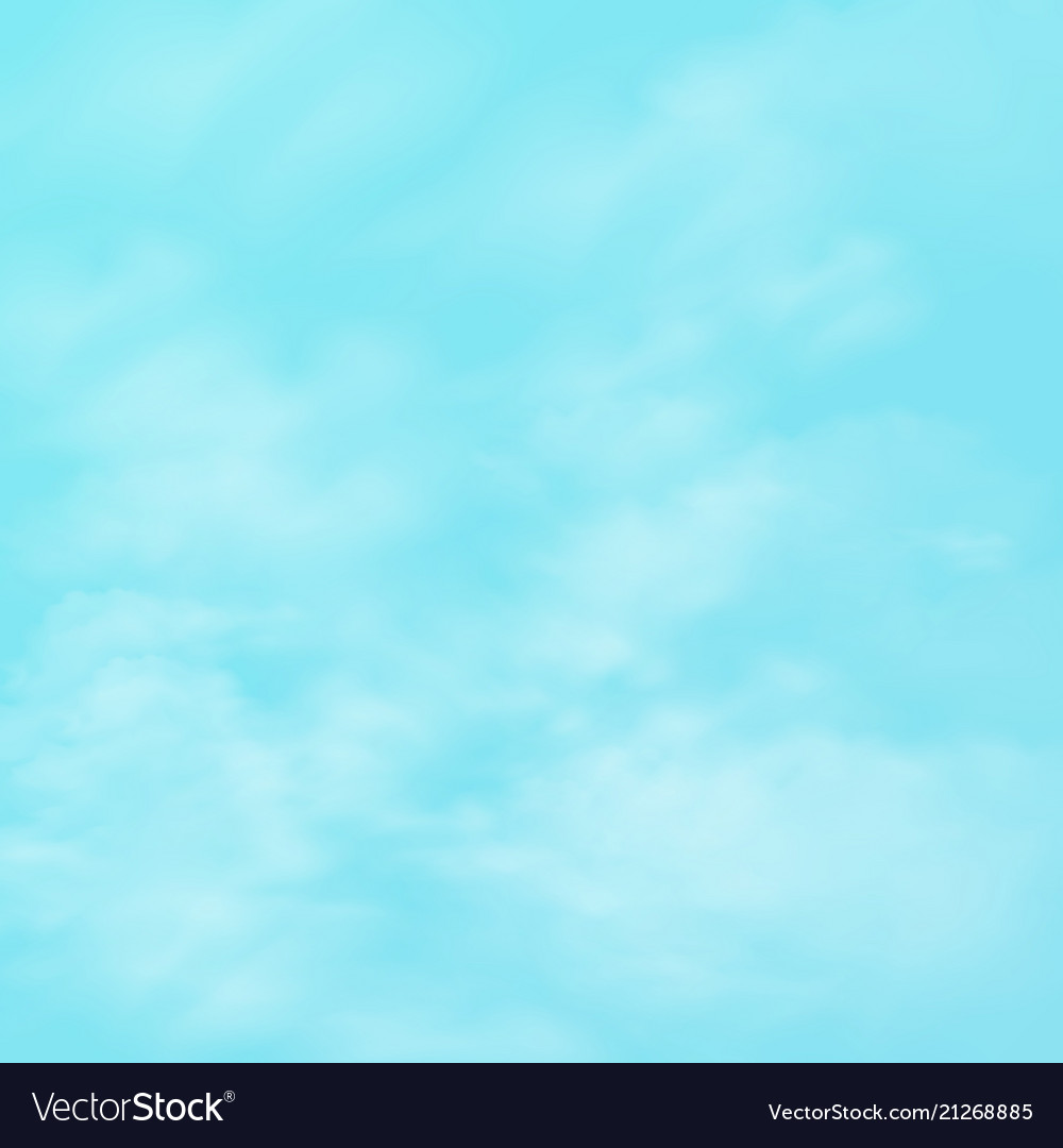 Abstract of realistic group of clouds on blue sky