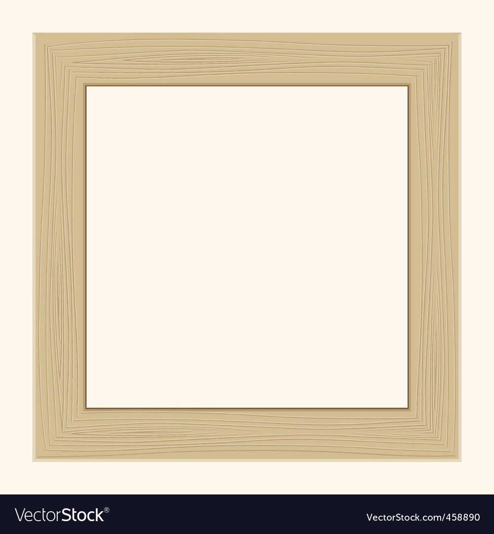 Frame for the photos vector image
