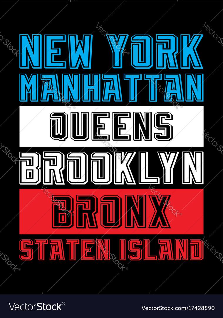 United states typography design image