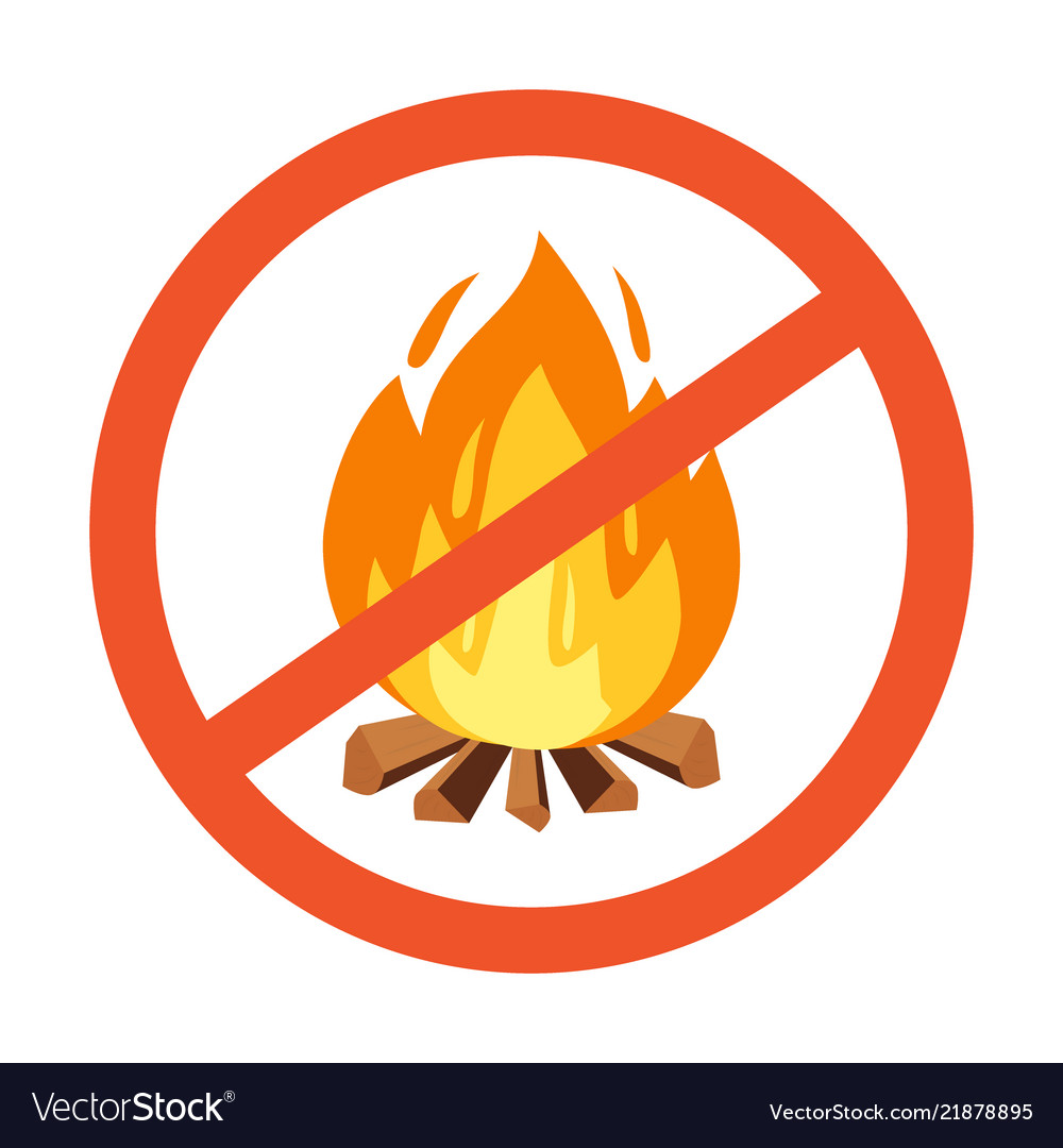 Flammable hazard warning symbol design