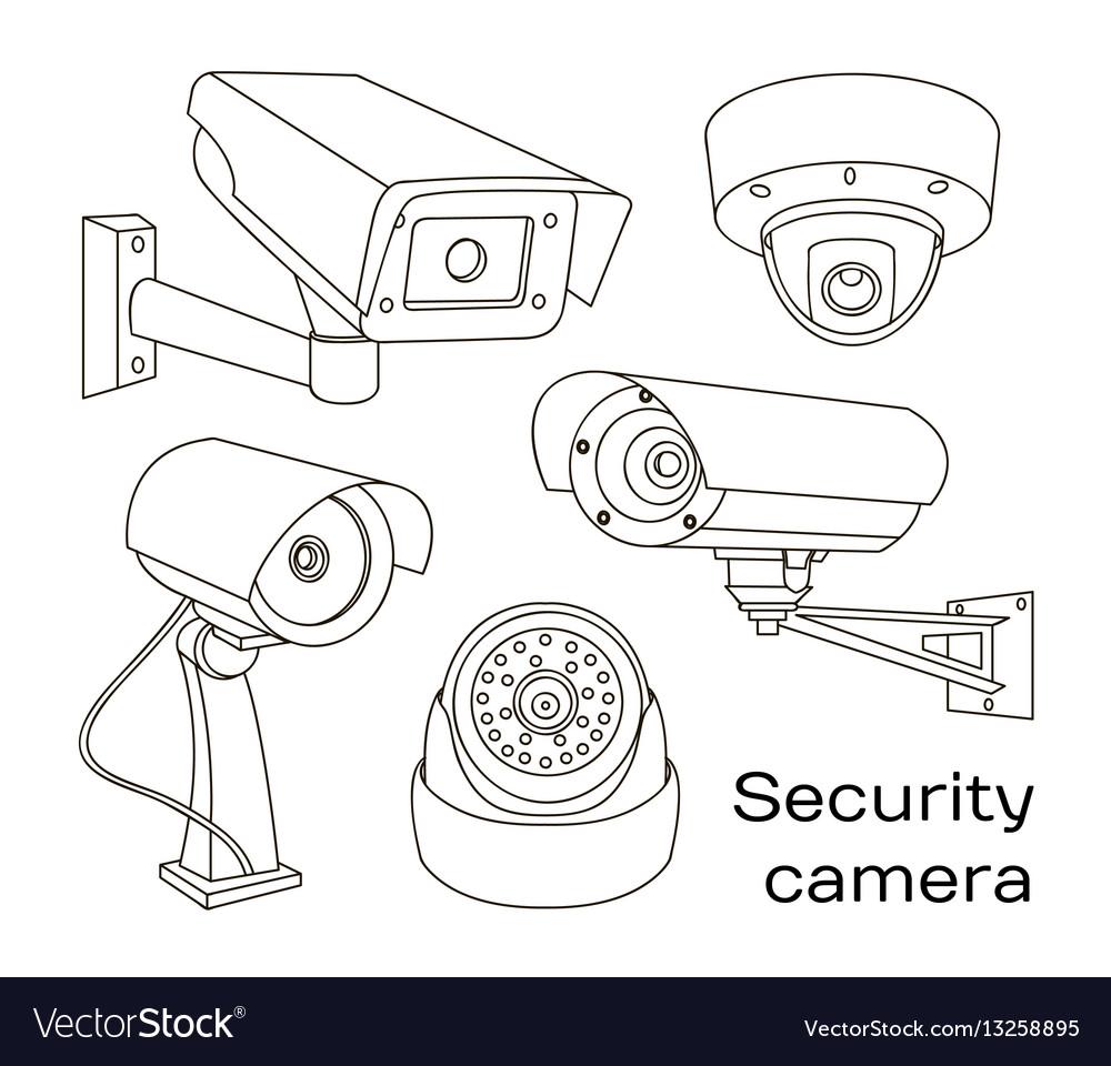 Set of security camera