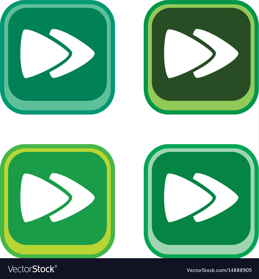 Color app icon button game asset theme Royalty Free Vector