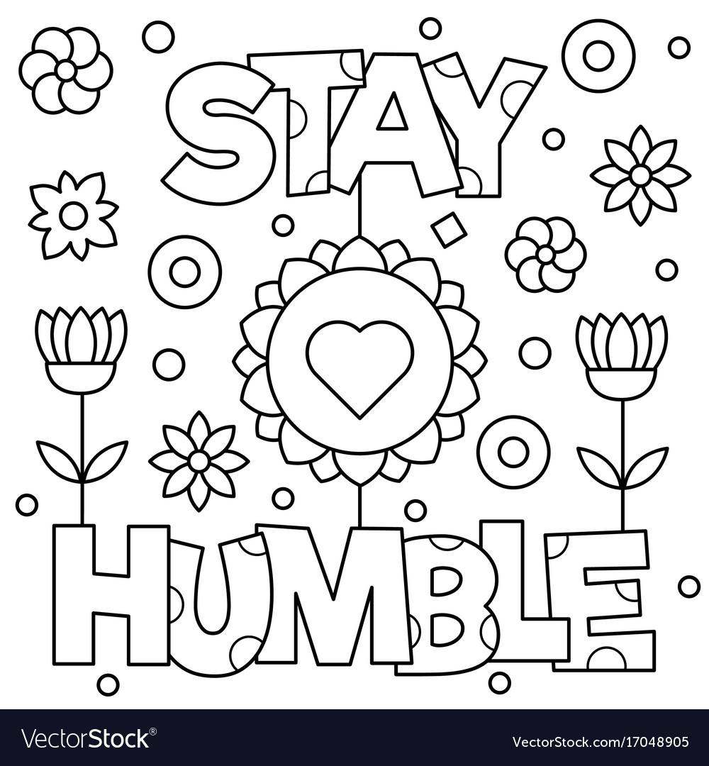 Stay true to yourself coloring page – The Doodle Monkey | 1080x1000