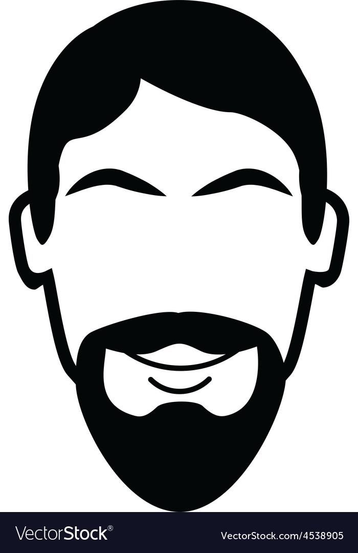 Van Dyke Beard vector image