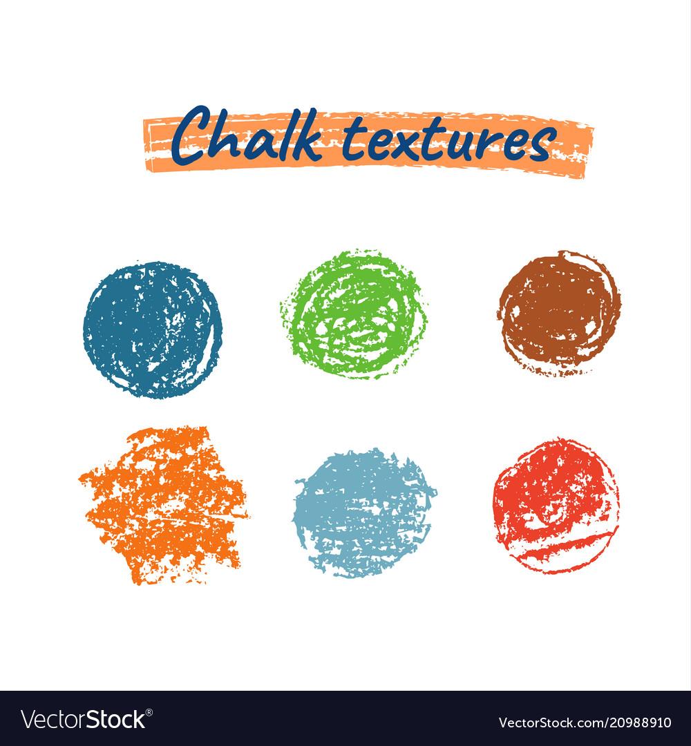 Chalk grunge textures
