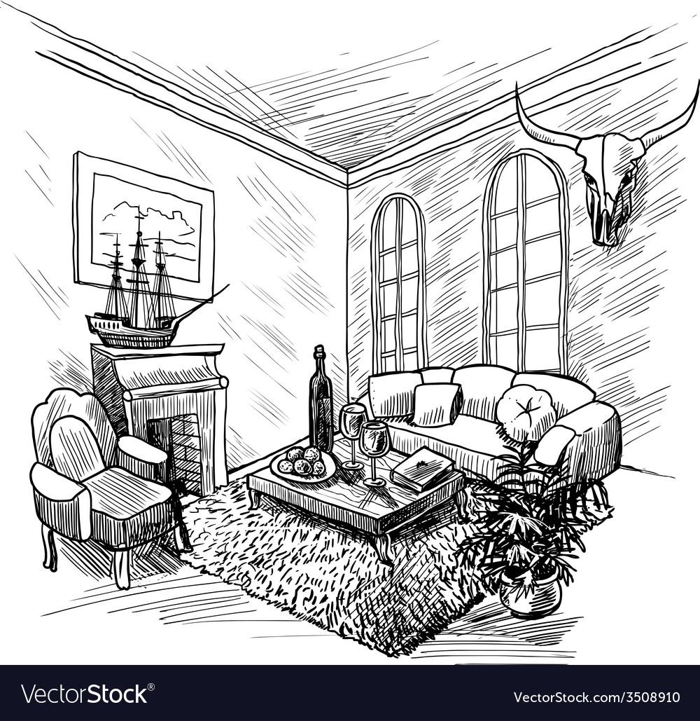 Room Sketch Background