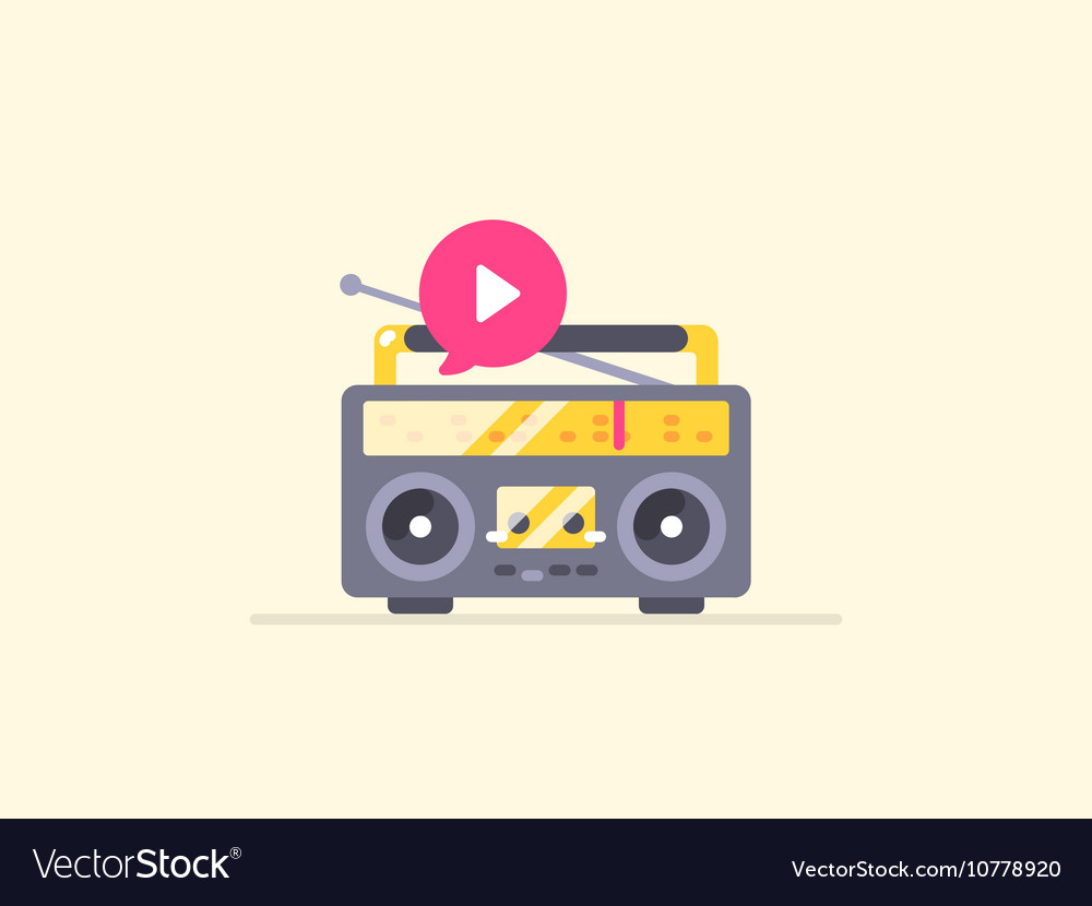 Boombox stereo icon