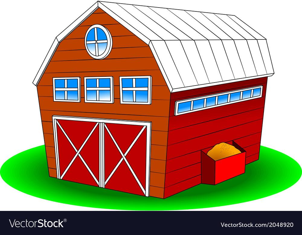 Cartoon barn