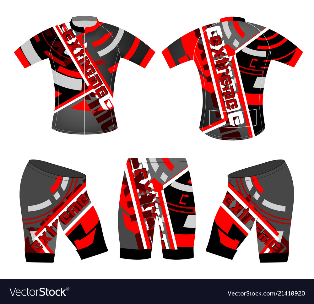 sportswear jersey template