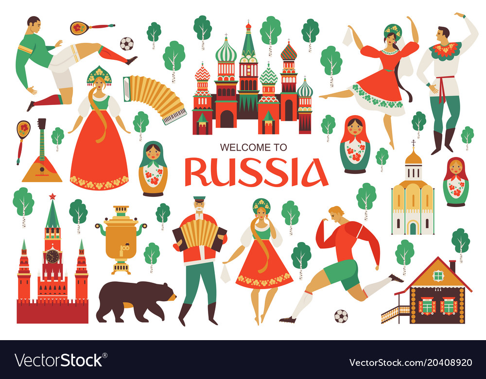 Welcome to russia russian sights and folk art