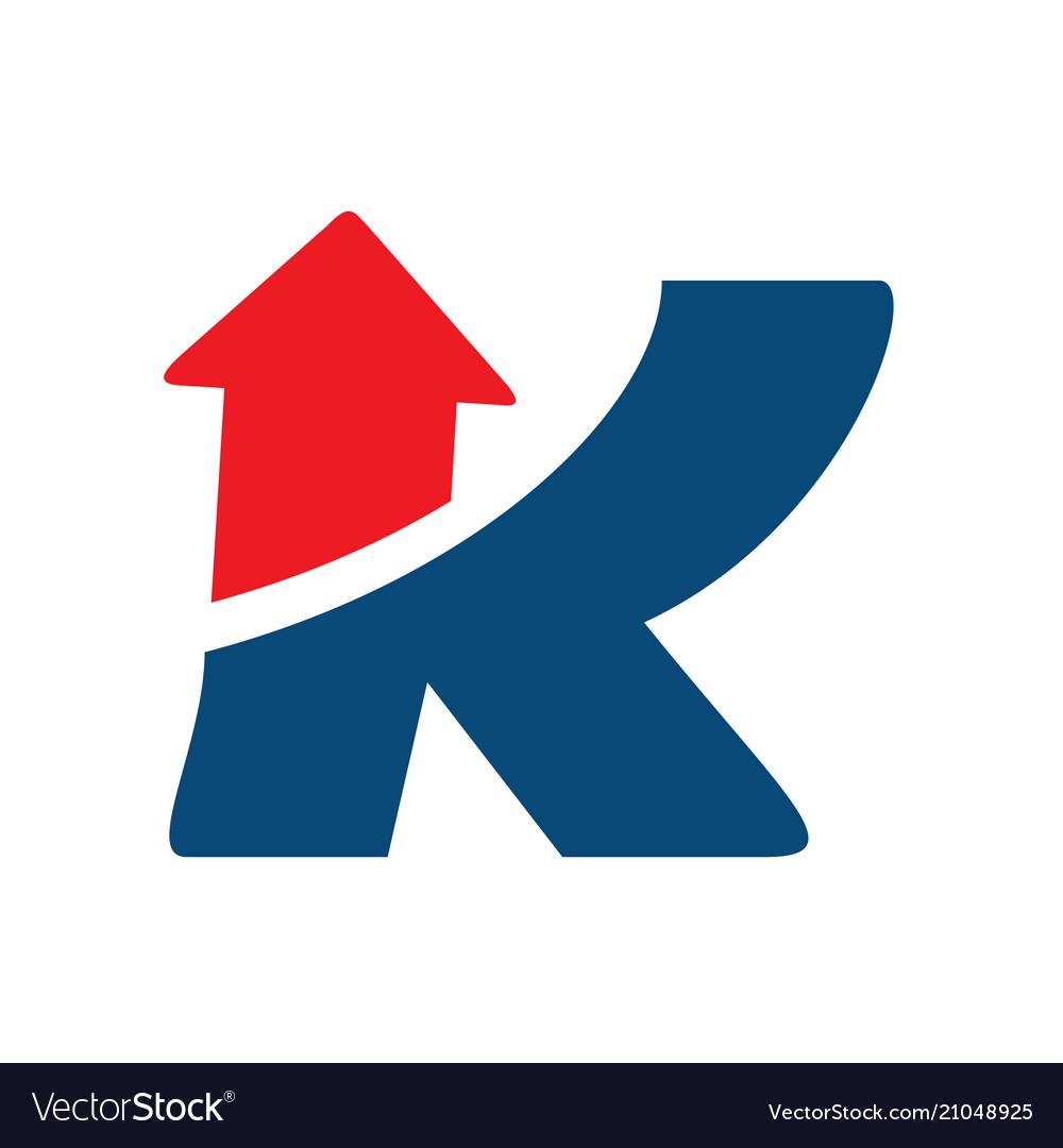 Business corporate letter k logo design