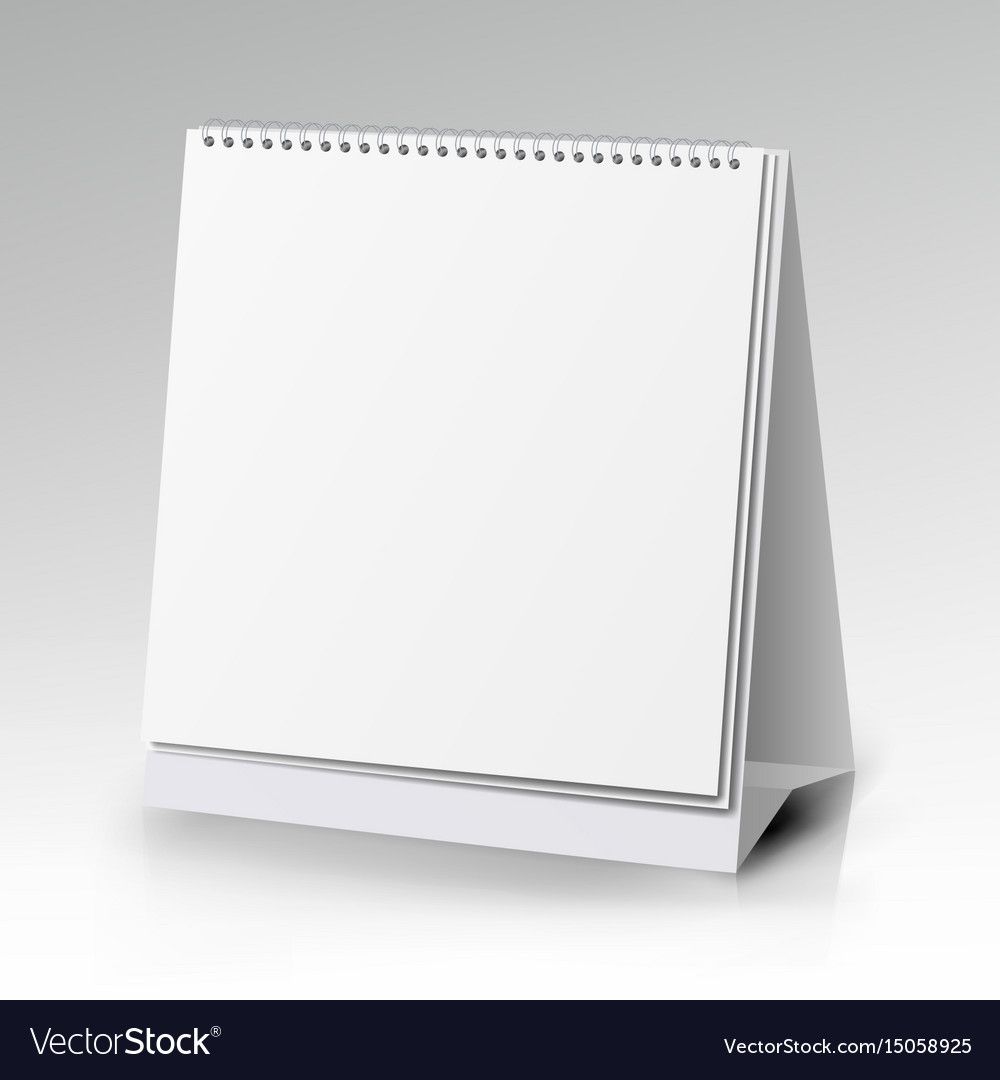 Table blank stand holder for menu paper