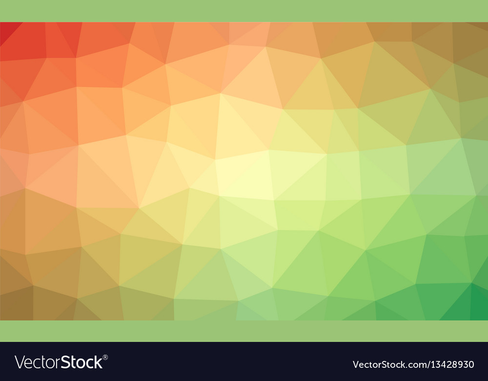 Abstract rainbow colorful lowploly of many
