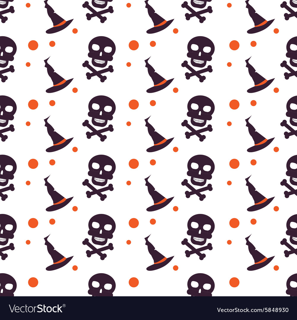 Happy Halloween Background Seamless pattern