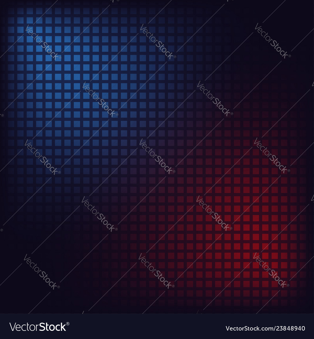 Blue and red squares