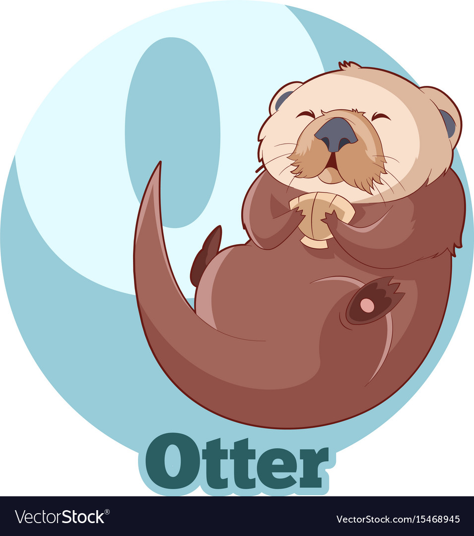 Abc cartoon otter