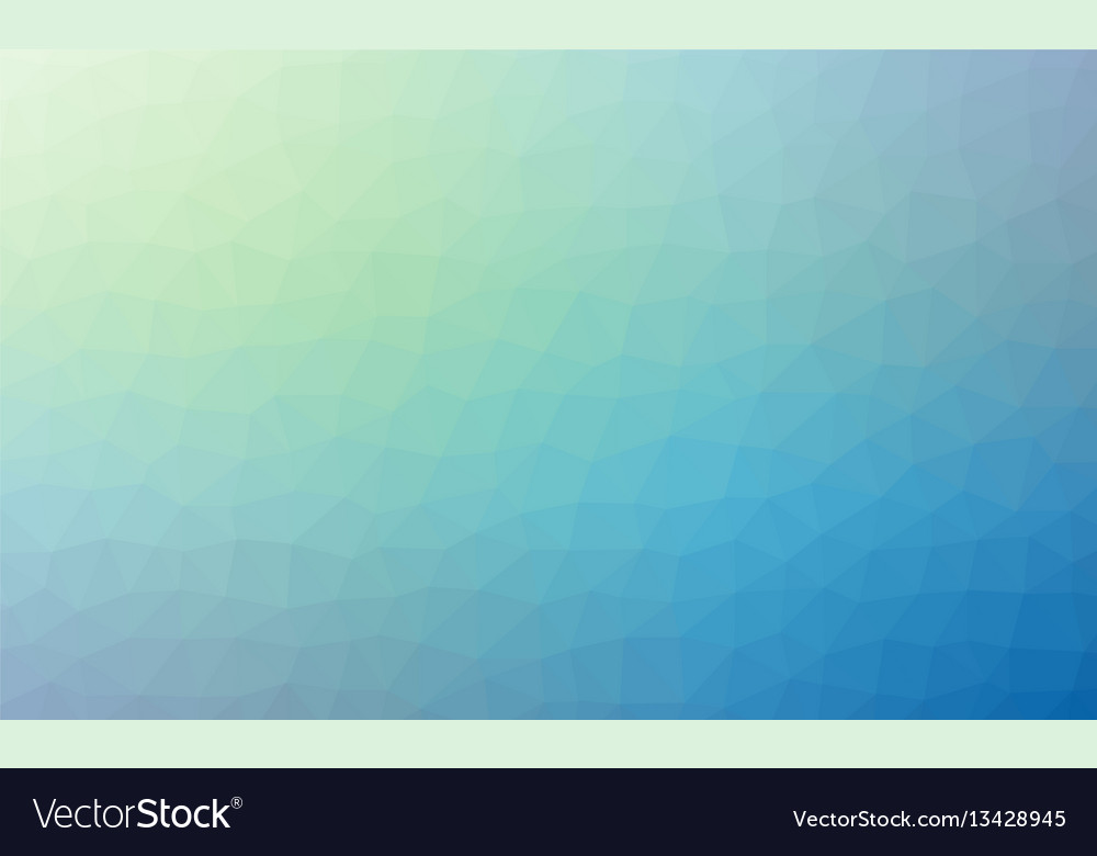 Abstract blue colorful lowploly of many triangles