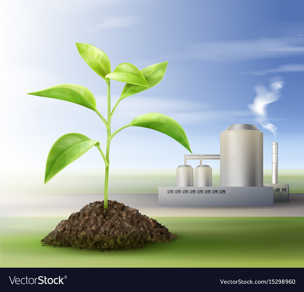 Processing natural resources Royalty Free Vector Image