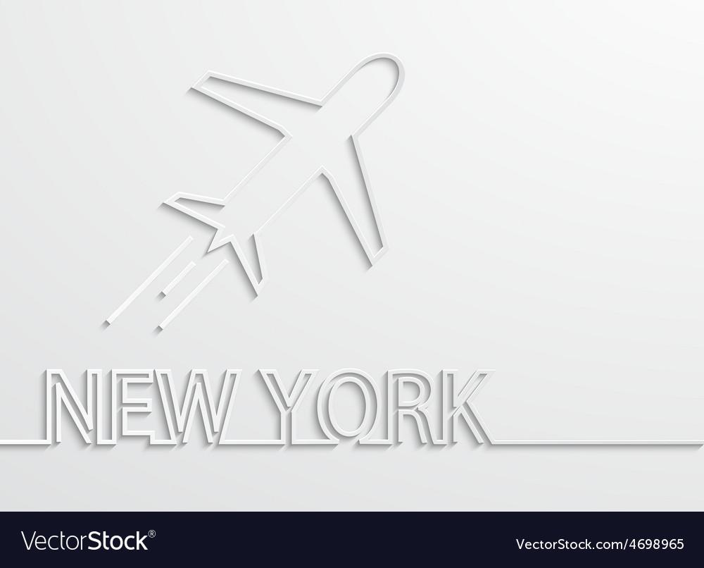 Modern new york capital background