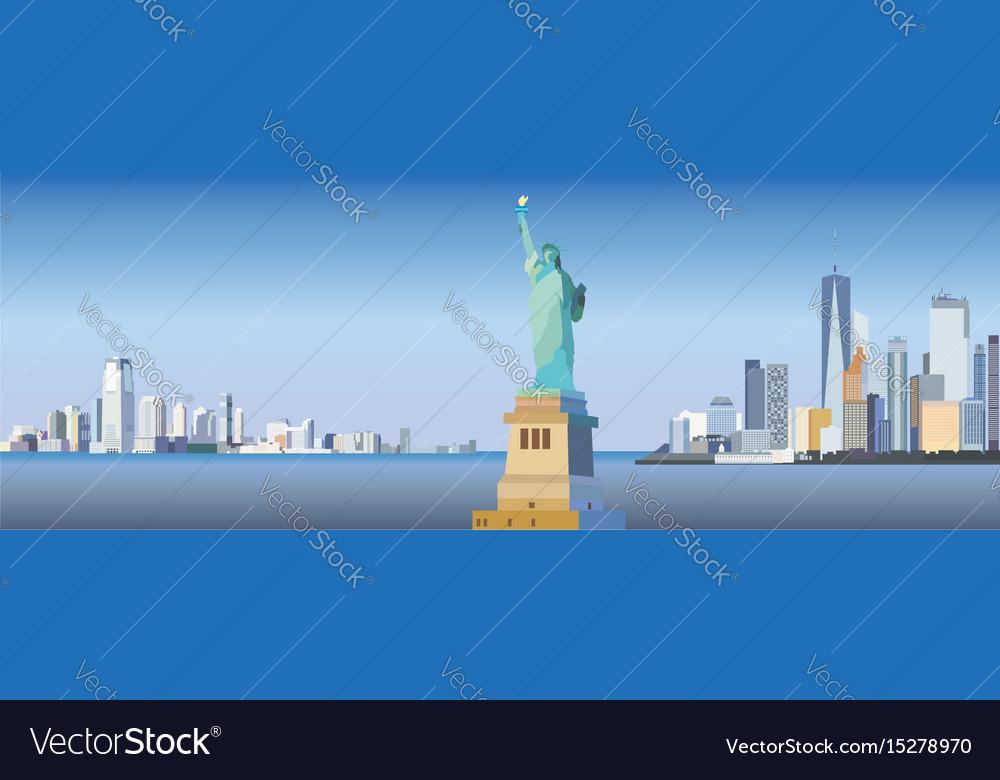 New york-city silhouette