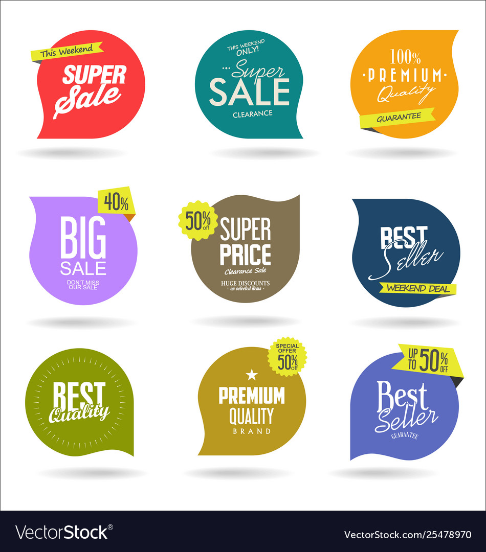 Sale banner templates design and special offer