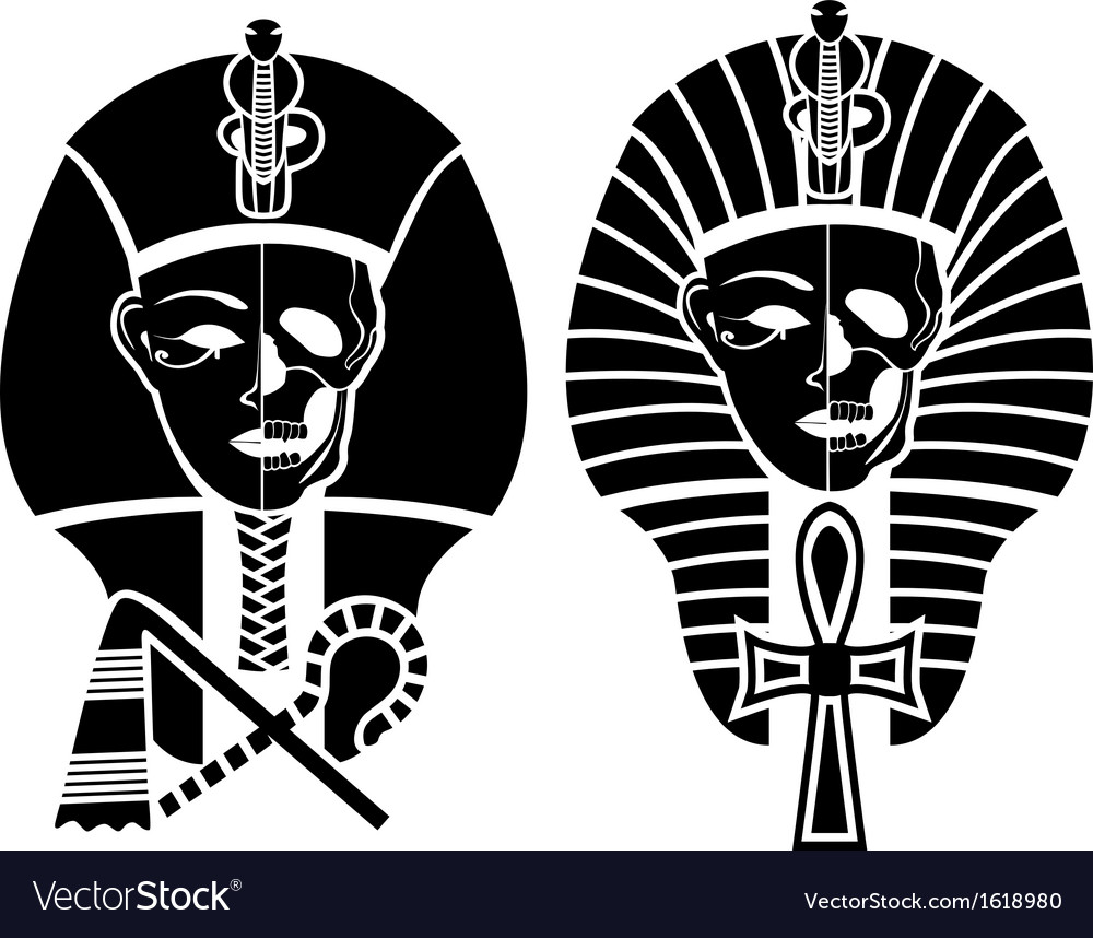 Egyptian symbol of death vector image