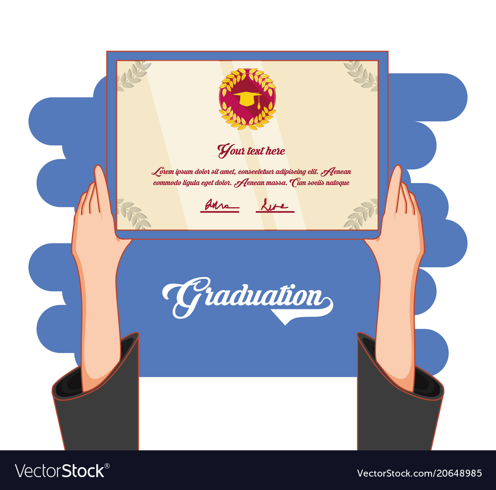 Graduation card invitation icon royalty free vector image graduation card invitation icon vector image filmwisefo