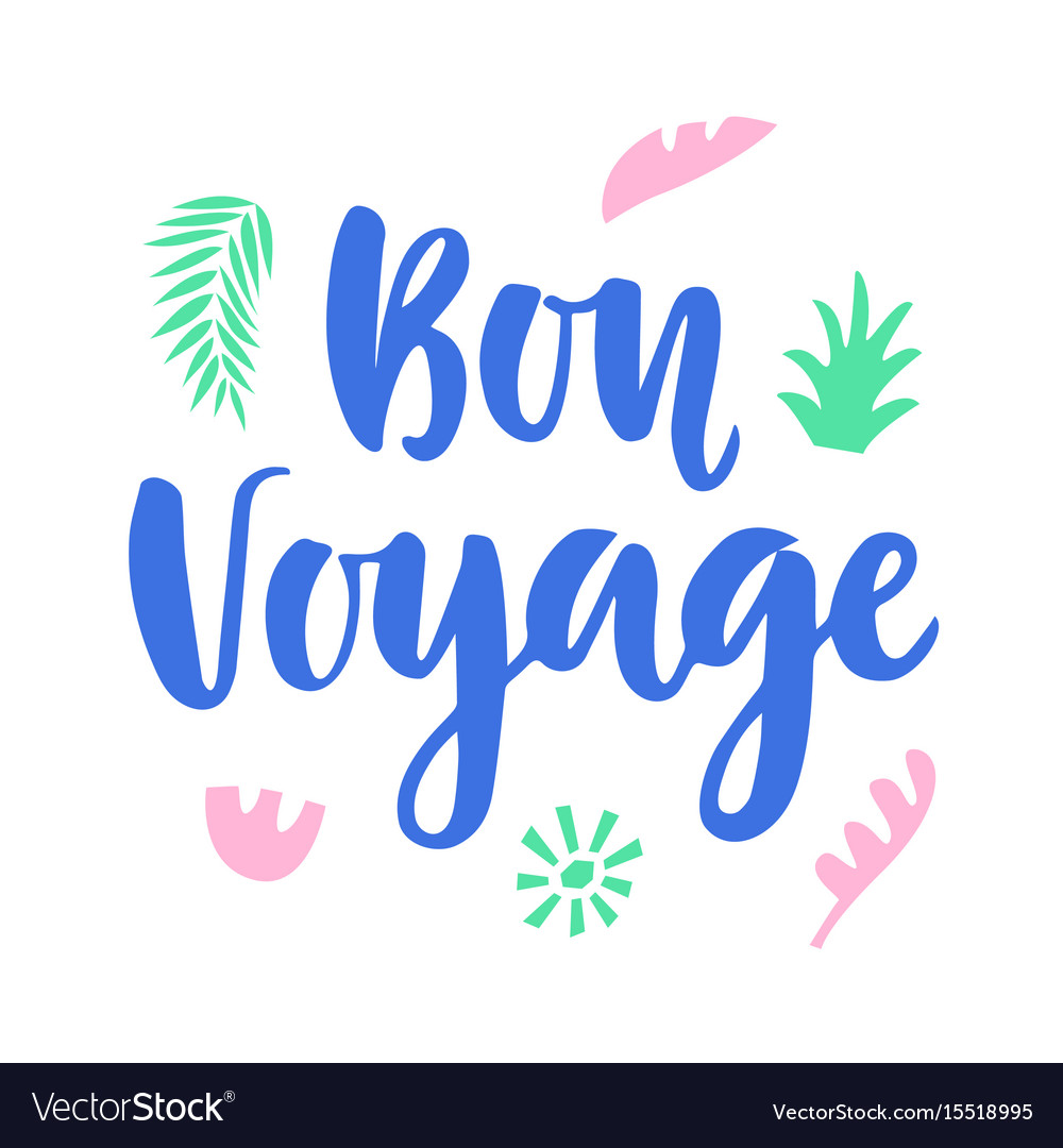 bon voyage graphic. Black Bedroom Furniture Sets. Home Design Ideas