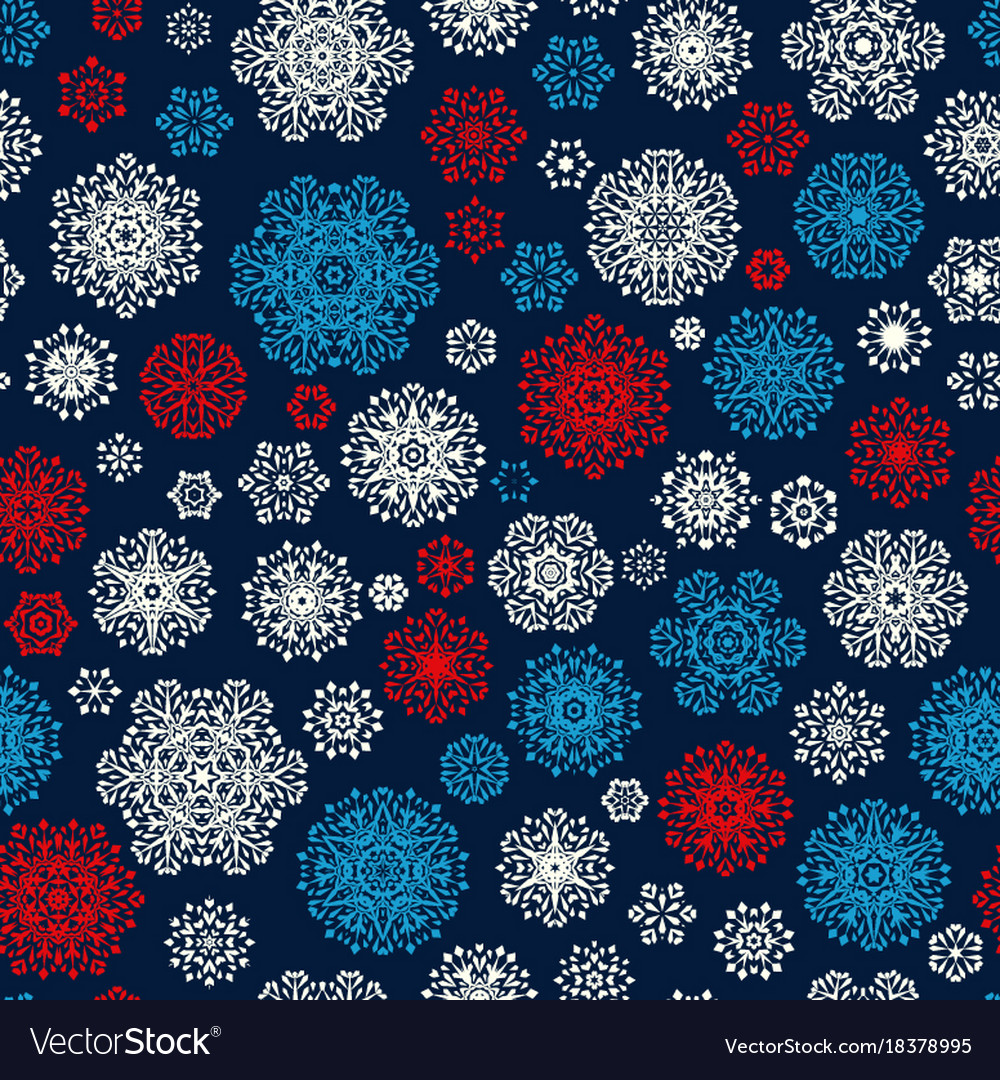 Christmas Wrapping Paper Pattern Eps 10 Royalty Free Vector